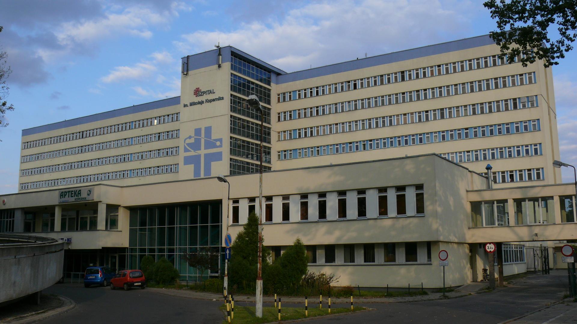 Sprzęt wykorzystywany w szpitalach